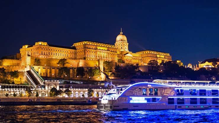 evening cruise budapest